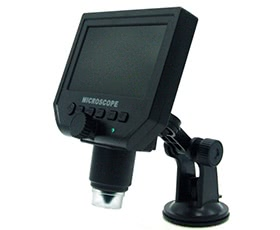 HD 3.6 Mega Pixel LCD Digital Microscope