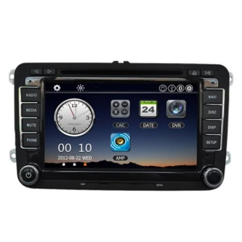 "Universal Car 7"" 1080P HD DVD Player ​Bluetooth GPS Navigation"