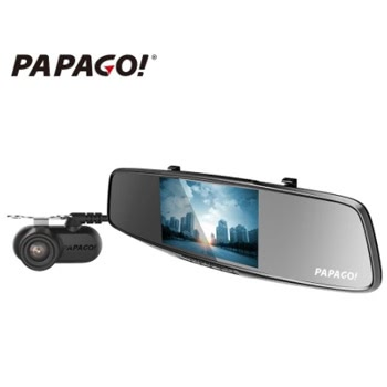 PAPAGO Gosafe 738 Dual Lens Car DVR