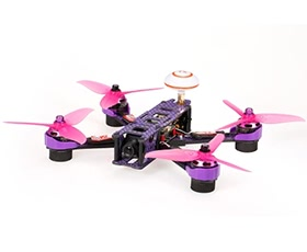 GoolRC XF220 5.8G 200mW 700TVL 2205 Brushless F4 Flight Control FPV Racing Quadcopter