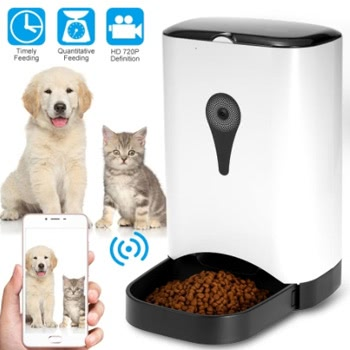Automatic Pet Feeder with Video Monitoring