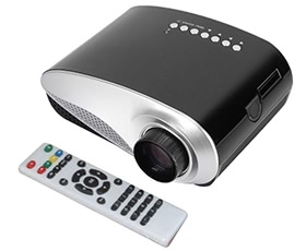 Mini LED Projector 120 lumens