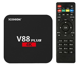 V88 Plus Android 6.0 TV Box RK3229 2G / 8G