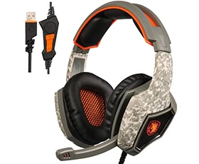 SADES SA917 Wired Gaming Headset