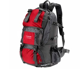 50L Outdoor Sport Backpack-Red