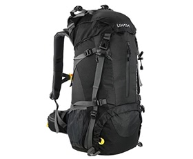 Lixada 50L Water Resistant Outdoor Backpack with Rain Cover