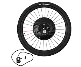 26 inch Smart Electric Front Bicycle Wheel