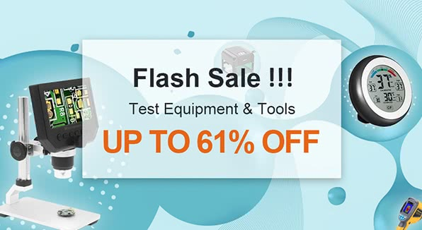 Electronic Test Equipment and Tools Up To 61% Off