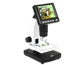 "Portable Stand Alone Desktop 3.5"" LCD Digital Microscope"