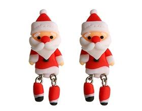 Personality Handmade Cute Snowman Ear Studs