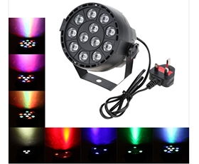 15W DMX-512 LED RGBW PAR Stage Light