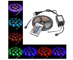 5M 270 LEDs RGB LED Strip Light