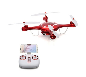 Syma X5UW Wifi 720P HD Camera FPV RC Drone with Planned Flight Track Function