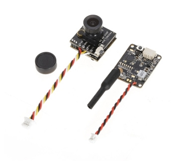 Turbowing Cyclops 3 5.8G 48CH 25mW 200mW Switchable 700TVL FPV Transmitter DVR Camera