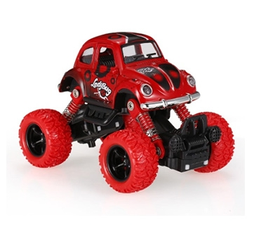 Classic Pull Back Car 1/36 Alloy 4WD Big Wheels Shock Resistant Off Road