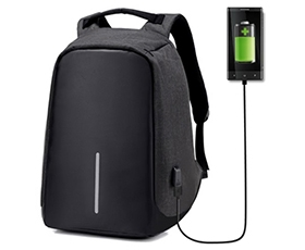 Anti-Theft Laptop Travel Backpack with USB Plug Charging port