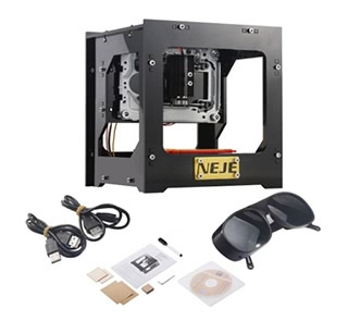 NEJE DK-8-KZ 1000mW High Speed Mini USB Laser Engraver