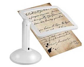 3X Reading Full-page Magnifier Lamp