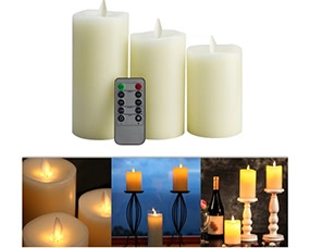 Romantic Flameless Electric LED Candle Light with Remote Control