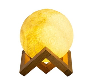 LED USB Rechargeable Dimmable Moon Night Light