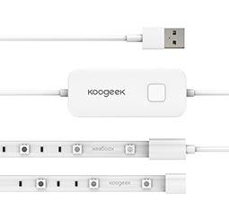 Koogeek 6.6ft / 2m Flexible 60 LED Wi-Fi Enabled Smart Light Strip