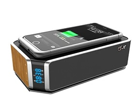 JE UT-11 Bluetooth Speaker with Qi Wireless Charger