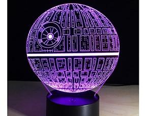 3D LED Illusion Colorful Table Night Light