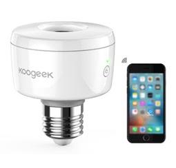 Koogeek Wi-Fi Enabled Smart Socket for Apple Homekit