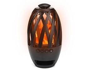 BTS-596 Flame Light Wireless Bluetooth 4.2 Speaker