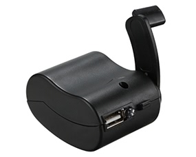 NO Universal Hand-cranked Manual USB Port Charger