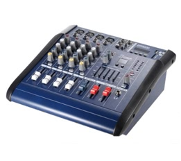 ammoon PMX402D-USB 4 Channel Digtal Mic Line Audio Mixing Mixer Console