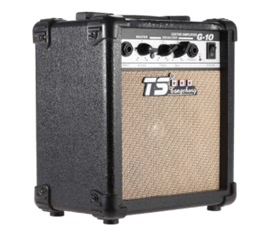 "G-10 Electric Guitar Amplifier Overdrive Professional Amp 5"" Speaker with 2-Band EQ"