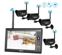 4CH Wireless WiFi Camera System