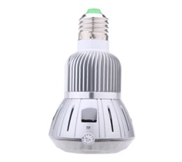 1080P Wifi LED Bulb Hidden Camera