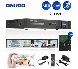 4CH 1080N AHD DVR with 1TB HDD