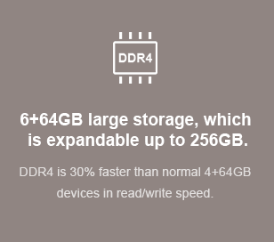 6+64GB large storage, which 