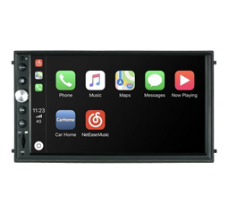 "7"" Double Din HD Car Play Audio Video Touchscreen Player GPS navigation with Siri Artificial Intelligence Voice Function"