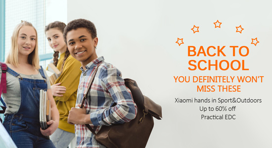2018 Back To School Promotional Sale, Up to 60% Off