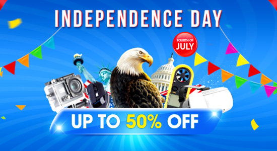 Up to 50% Off American Independence Day Special Deals