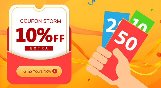 Extra 10% Off On Tomtop Graps Your Coupons Now