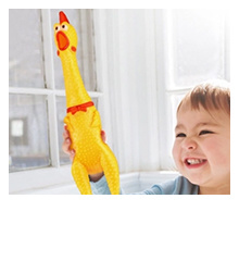 Screaming Chicken Squeeze Sound Toy