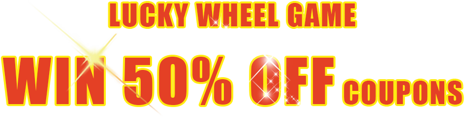 Lucky Wheel Game Win 50% OFF