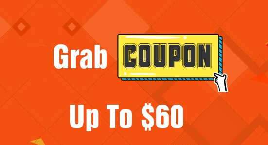 Grab Coupons Up To $60