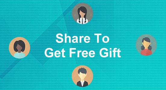 Share To Get Free Gift