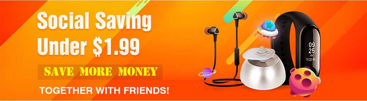 Social Saving, Save More Money Tegether With Friends!