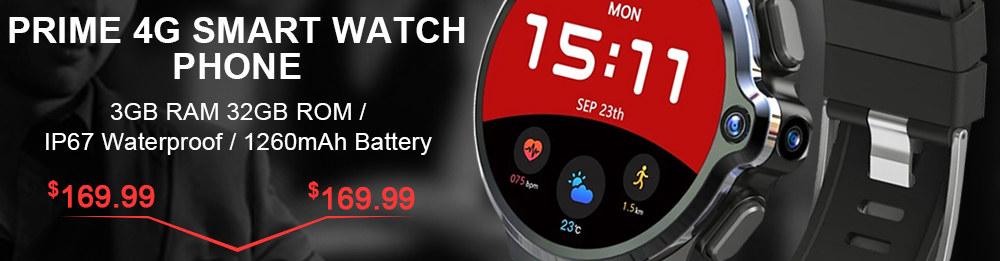 Kospet Prime 4G Smart Watch Phone Sale