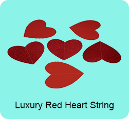 Luxury Red Heart String