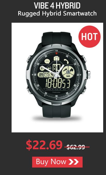 VIBE 4 HYBRID Rugged Hybrid Smartwatch