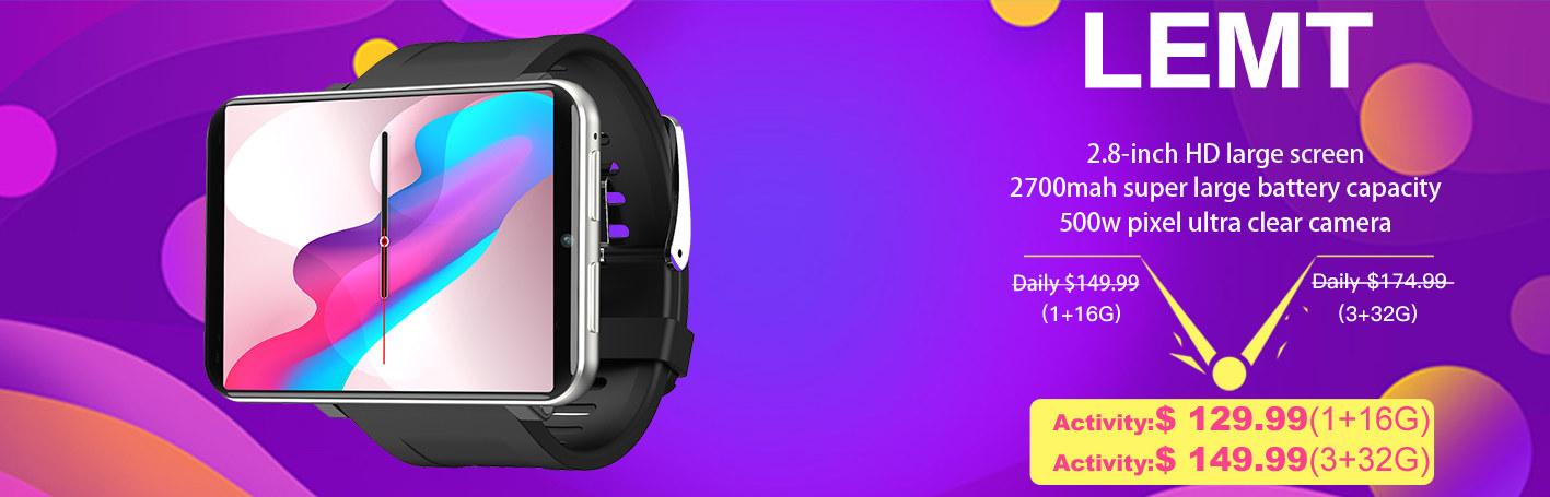 Lemfo Smartwatches Promotion | Big Disccount
