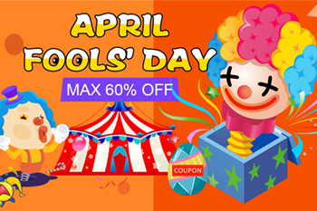 April Fools' Day: Get Max 60% Off @Tomto